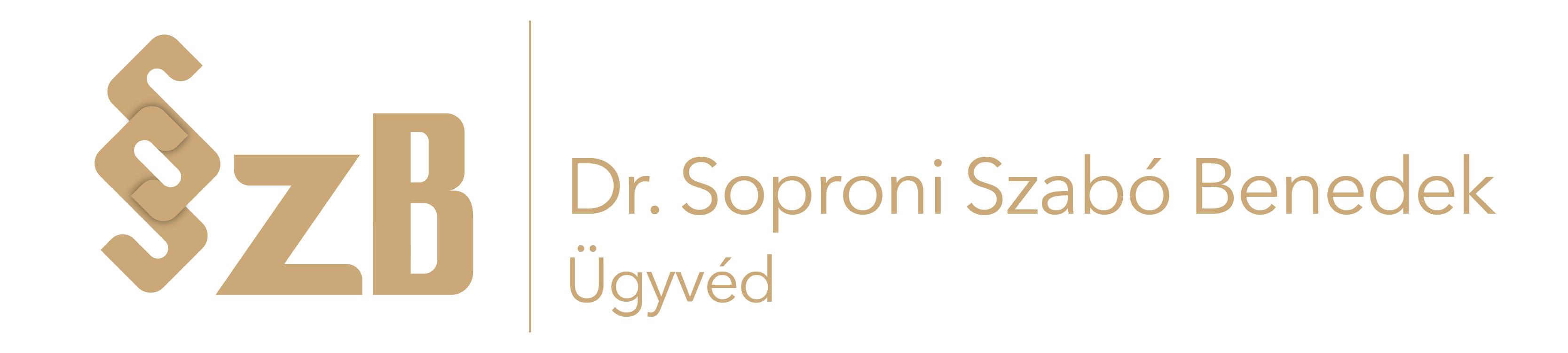 Dr. Soproni Szabó Benedek ügyvéd